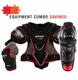 Bauer Vapor X 100 Jr. Hockey Equipment Combo