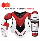 Bauer Vapor X800 Jr. Hockey Equipment Combo