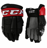 Binghamton Senators CCM 3 Pro Stock Hockey Gloves - Grant