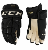 Boston Bruins CCM 12 Pro Stock Hockey Gloves - Irwin
