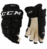 Boston Bruins CCM 12 Pro Stock Hockey Gloves - Smith