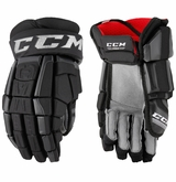 Boston Bruins CCM Crazy Light Pro Stock Hockey Gloves