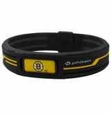 Boston Bruins Phiten Titanium Bracelet