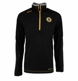 Boston Bruins Reebok Center Ice Sr. Quarter Zip Pullover