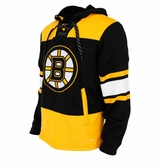 Boston Bruins Reebok Face-Off Team Jersey Sr. Hooded Sweatshirt