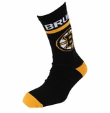 Boston Bruins Reebok Sr. Jacquard Crew Socks