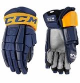Buffalo Sabres CCM Crazy Light Pro Stock Hockey Gloves