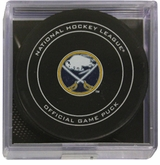 Buffalo Sabres Official NHL Game Puck with Cube