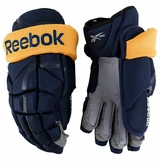 Buffalo Sabres Reebok 11KP Pro Stock Hockey Gloves