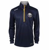 Buffalo Sabres Reebok Baselayer Quarter Zip Pullover Performance Jacket