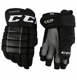 Calgary Flames CCM 4R Pro Stock Hockey Gloves - Glencross