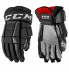 Calgary Flames CCM Crazy Light Pro Stock Hockey Gloves