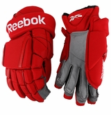 Calgary Flames Reebok 11KP Pro Stock Padded Hockey Gloves