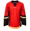 Calgary Flames Reebok Edge Gamewear Uncrested Adult Hockey Jersey