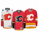 Calgary Flames Reebok Edge Sr. Authentic Hockey Jersey