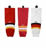 Calgary Flames Reebok Edge SX100 Intermediate Hockey Socks
