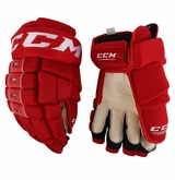 Carolina Hurricanes CCM 4 Roll Pro Stock Hockey Gloves