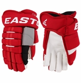 Carolina Hurricanes Easton Pro Stock Hockey Gloves - Corvo (Narrow)