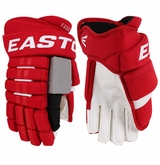 Carolina Hurricanes Easton Pro Stock Hockey Gloves - Faulk (Standard)