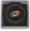 Carolina Hurricanes Official NHL Game Puck with Cube