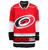Carolina Hurricanes Reebok Edge Jr. Premier Crested Hockey Jersey