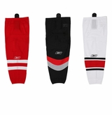 Carolina Hurricanes Reebok Edge SX100 Adult Hockey Socks