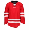 Carolina Hurricanes Reebok Edge Uncrested Junior Hockey Jersey