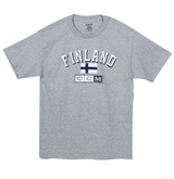 CCM 2215 Nations Sr. Short Sleeve Shirt - Finland