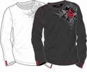 CCM Alexander Ovechkin Sketch Sr. Long Sleeve Shirt