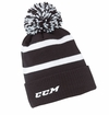 CCM Fleece Cuffed Pom Knit Yth. Beanie