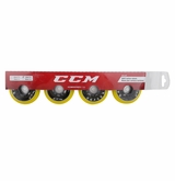 CCM IS632 78A Roller Hockey Wheel � Yellow � 4 Pack