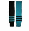 CCM 2-Tone Triple Stripe Jr. Hockey Socks