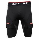 CCM Jr. Compression Jock Shorts w/Cup