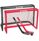 CCM Mini Net Set w/ 2 Sticks