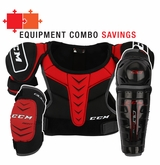 CCM QuickLite 230 LE Yth. Protective Equipment Combo