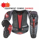 CCM QuickLite 250 Jr. Protective Equipment Combo