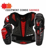 CCM QuickLite 250 LE Sr. Protective Equipment Combo