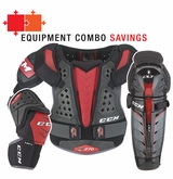 CCM QuickLite 270 Jr. Protective Equipment Combo