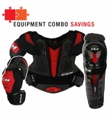 CCM QuickLite 270 LE Sr. Protective Equipment Combo