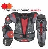 CCM QuickLite 290 Sr. Protective Equipment Combo