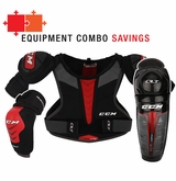 CCM QuickLite LE Yth. Protective Equipment Combo