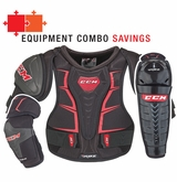 CCM RBZ 110 Jr. Protective Equipment Combo