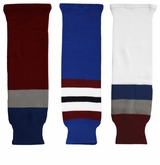 CCM S100 Colorado Avalanche Hockey Socks