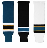 CCM S100 San Jose Sharks Hockey Socks