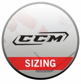 CCM Shoulder Pad Sizing Chart