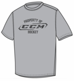 """CCM T5458 """"Property Of CCM"""" Tee"""