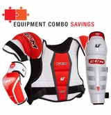 CCM U+04 LE Jr. Protective Equipment Combo