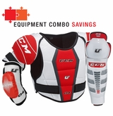 CCM U+ 04 Yth. Protective Equipment Combo
