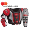 CCM U+ 08 Jr. Protective Equipment Combo