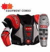 CCM U+08 LE Jr. Protective Equipment Combo